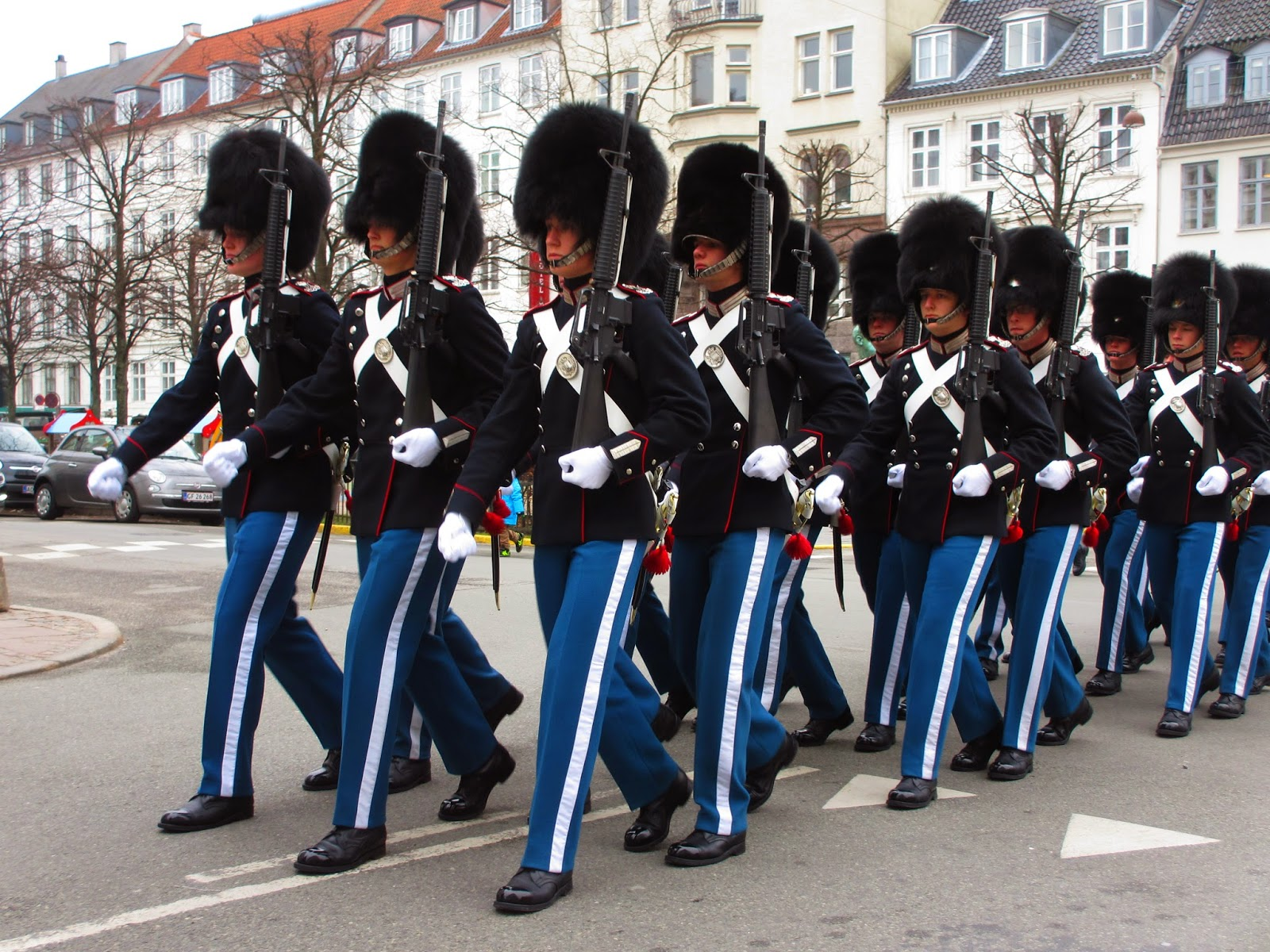 Palácio de AMALIENBORG, os soldadinhos de chumbo de Copenhaga | Dinamarca