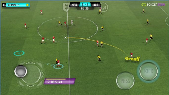 PES Soccer 2016 APK For Android Free Download