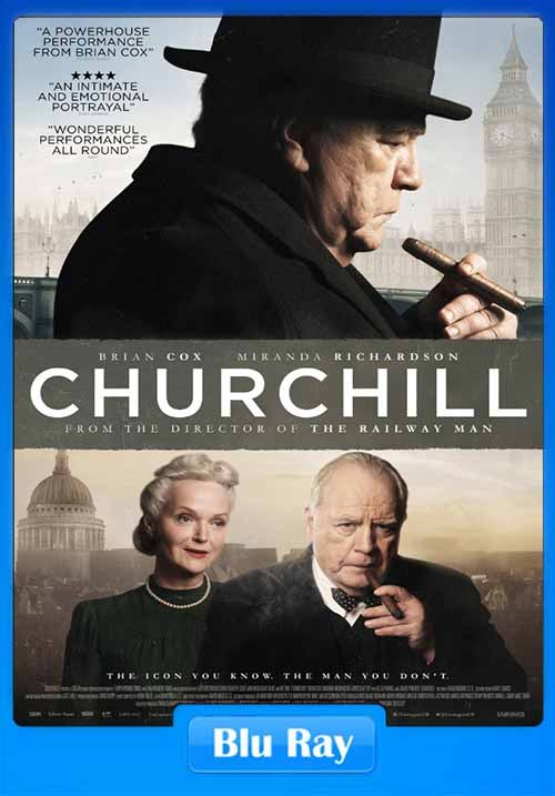 Churchill 2017 BRRip 480p x264 Hollywood 300MB Movie Poster