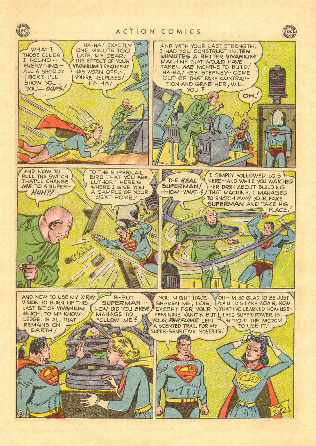 Read online Action Comics (1938) comic -  Issue #156 - 13