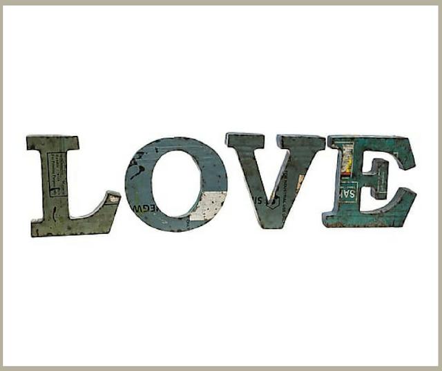 Cosas Bonitas: Letras Love-11