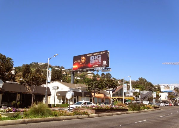 Big Driver movie billboard