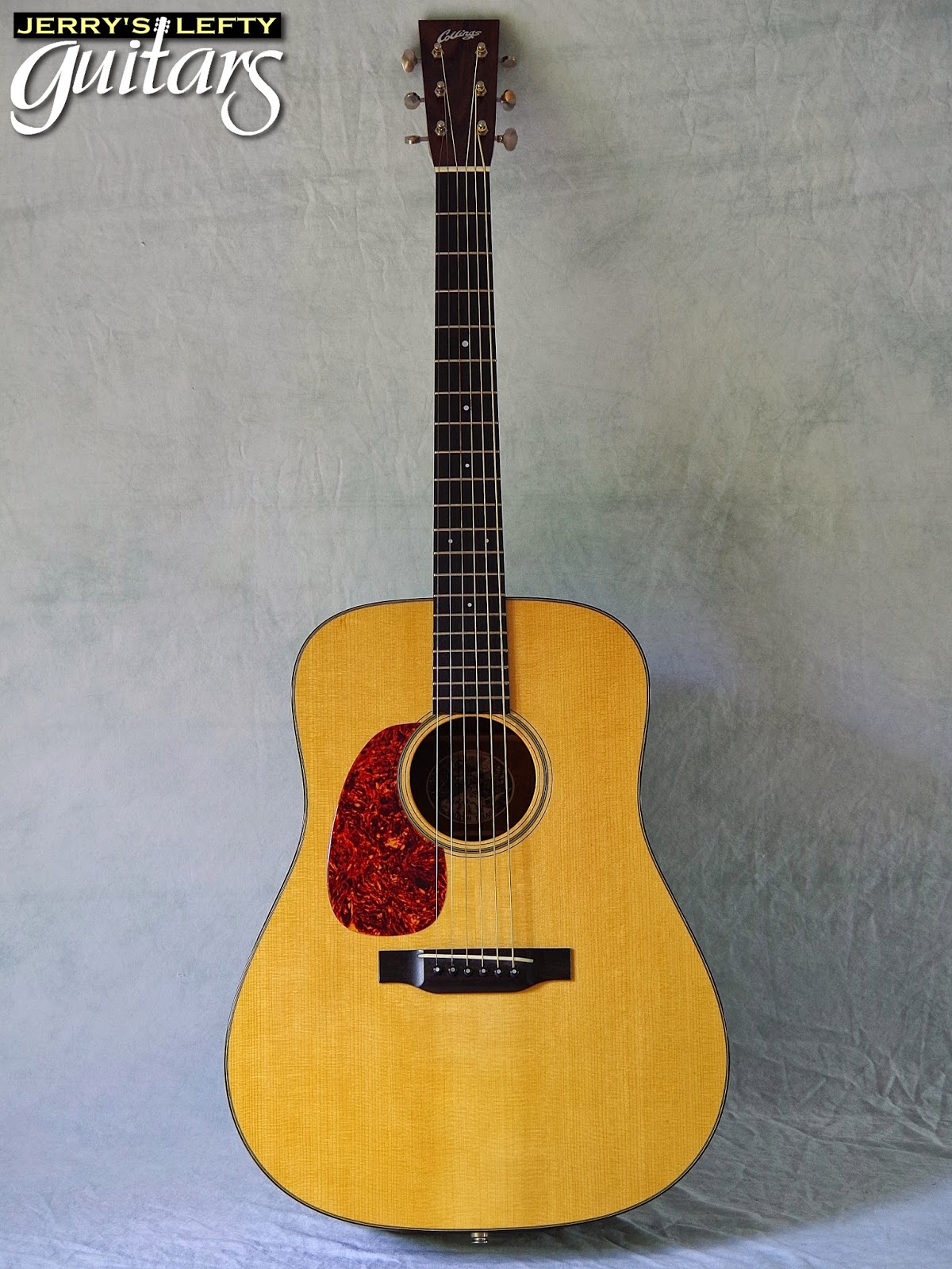 jerry 39 s lefty guitars newest guitar arrivals updated weekly collings d1a used left handed. Black Bedroom Furniture Sets. Home Design Ideas