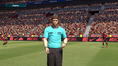 PES 2017 Real Referee Kit Pack