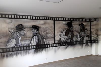 Malarstwo ścienne, malowanie obrazów na zamówienie, artystyczne malowanie ścian 3D, malowanie rysunków na ścianach