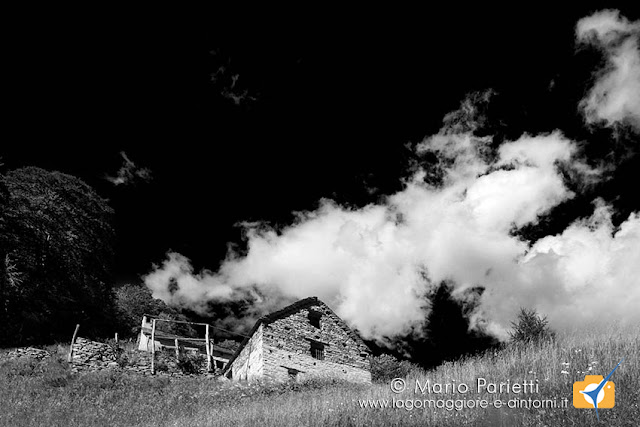 Alpe Verzasco in bianco e nero