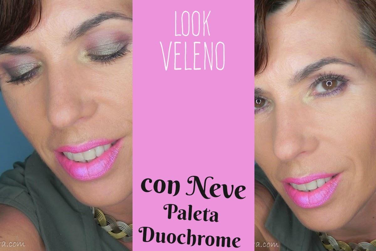 Maquillaje de noche para verano: Look Veleno con la Duochrome de ...