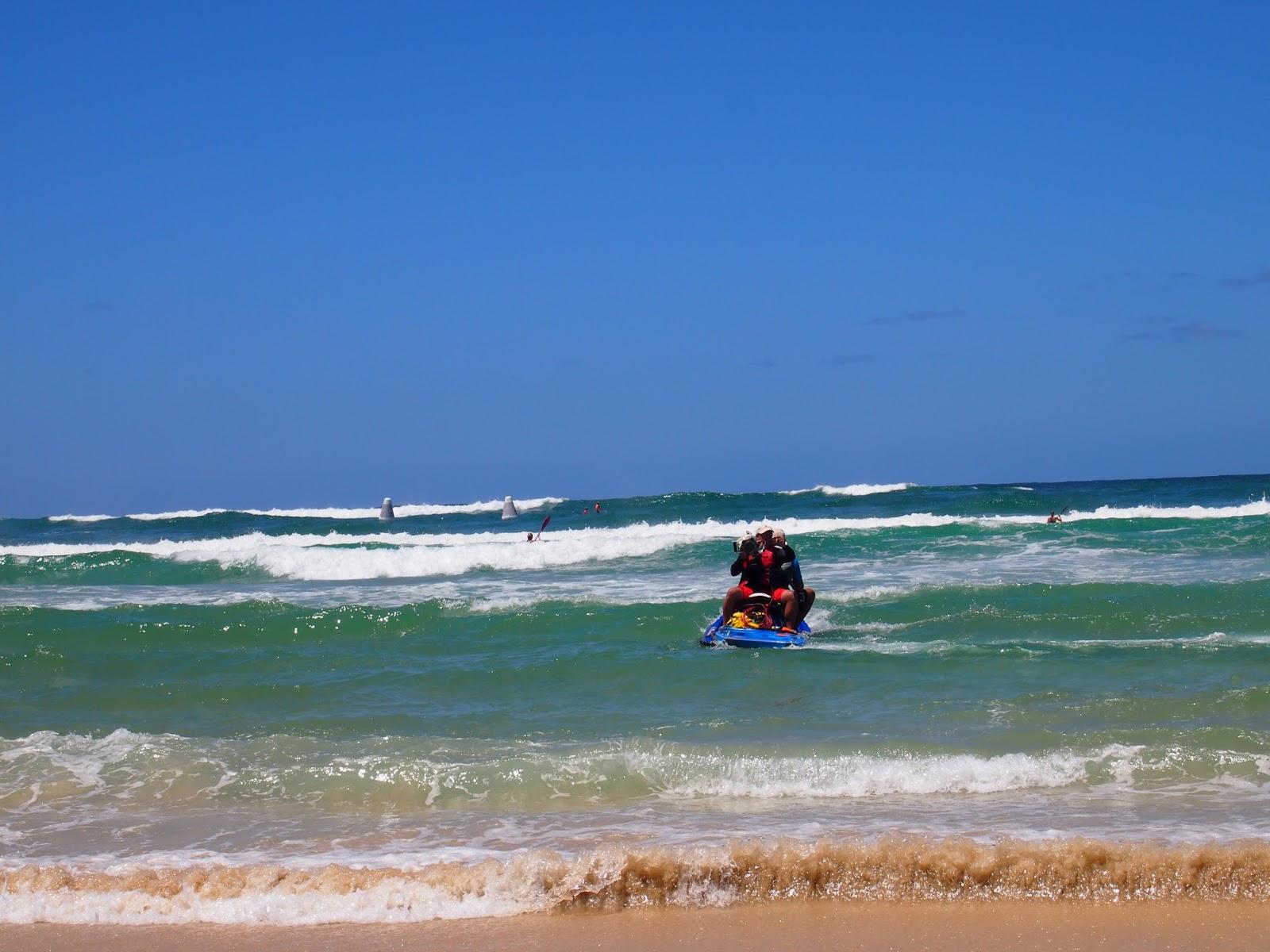 Camera Man on Jet ski Surf competition