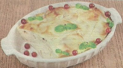 Состав продуктов и способ приготовления лапшевника из блинов