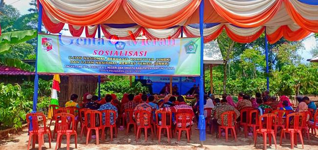 Mantangkan UN SMP, MKKS Lampura Gelar Rapat Persiapan