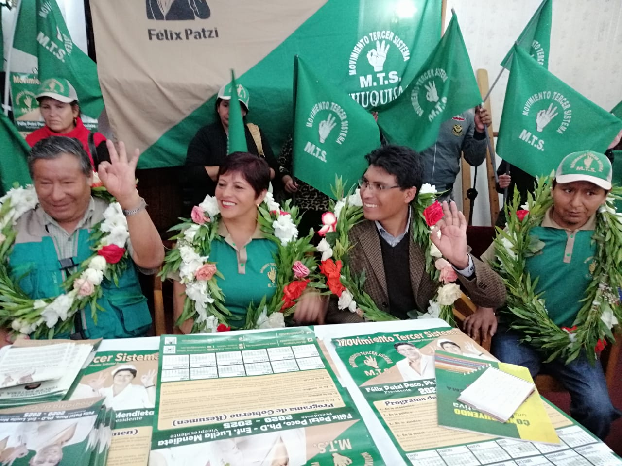 Tercer Sistema realizará campaña en los nueve departamentos / MTS
