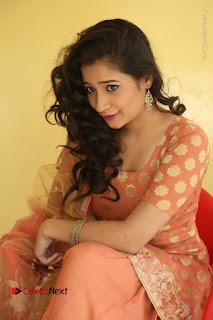 Telugu Actress Santoshi Sharma Latest Stills in Salwar Kameez at HBD Movie Teaser Launch  0092.JPG