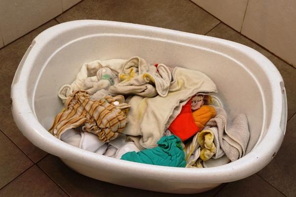 ręczne pranie pieluch wielorazowych