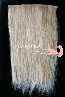 Tecimento de telas para mega hair - Tecer Cabelo
