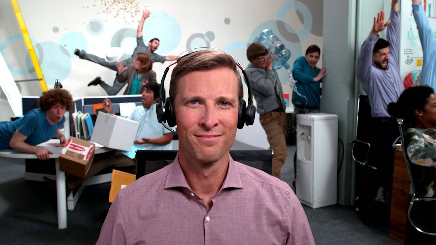 "Distracted in the Office? Find your Focus"" - New Plantronics Spot shot at 750FPS"