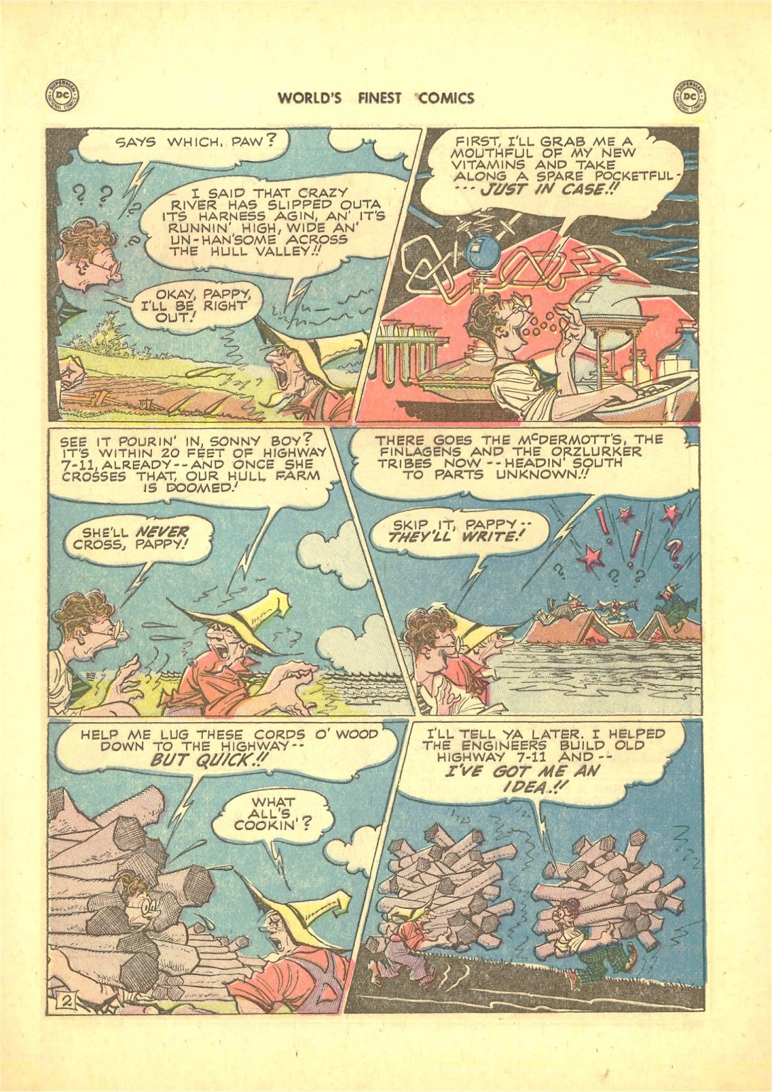Read online World's Finest Comics comic -  Issue #50 - 52