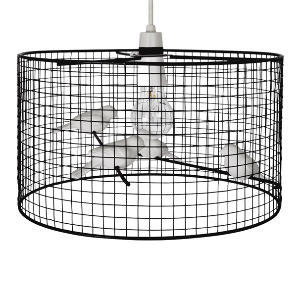 Iconic Lights' bird cage lamp shade, our house  Lazy ...