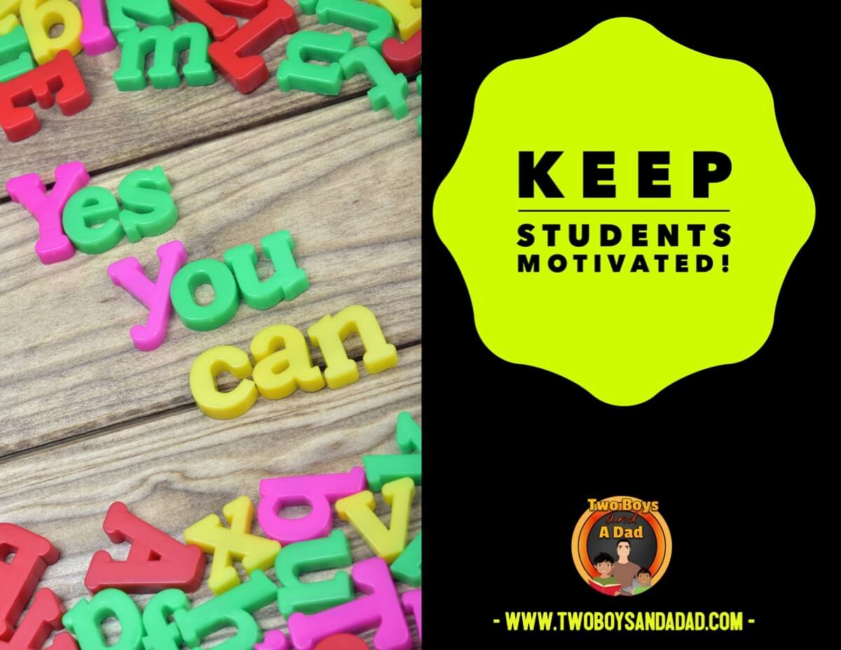 Keep students motivated