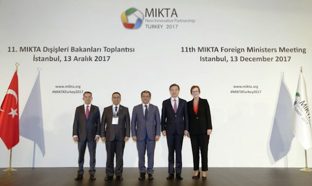 Indonesia Resmi Ketuai Organisasi Kerjasama MIKTA Periode 2018