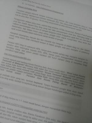 Keputusan Segmen Blog Review Safirul Amar