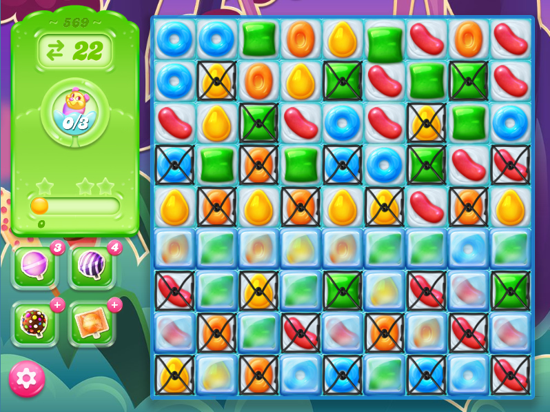 Candy Crush Jelly Saga level 569