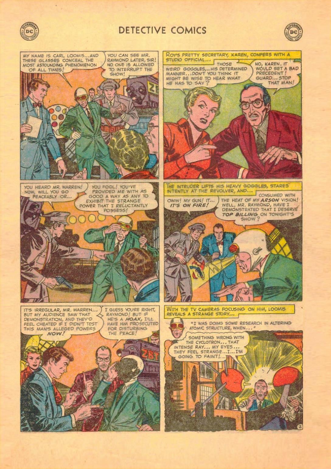 Read online Detective Comics (1937) comic -  Issue #182 - 17