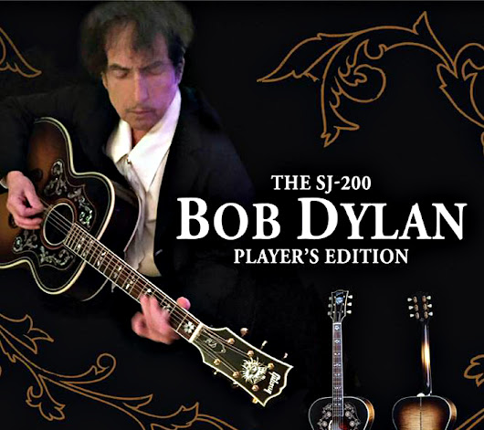 The Bob Dylan Autographed SJ-200 Collector's Edition