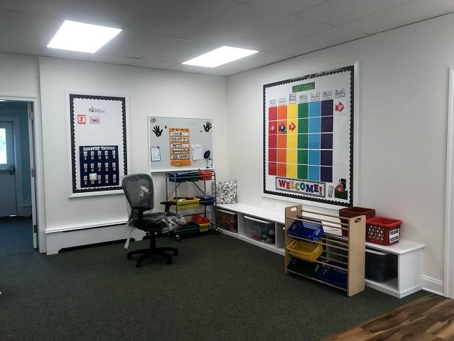 A Newly Renovated Preschool Classroom