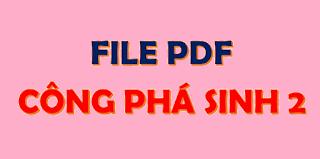 pdf - công phá sinh học 2