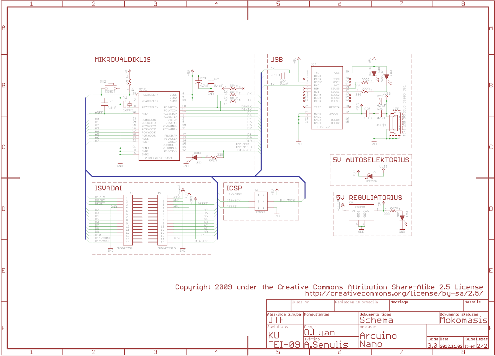 Mini Sumo Robot Destroyer 3000 Electrical Engineering Diagram Electronic Schematic Of The Arduino Nano V30