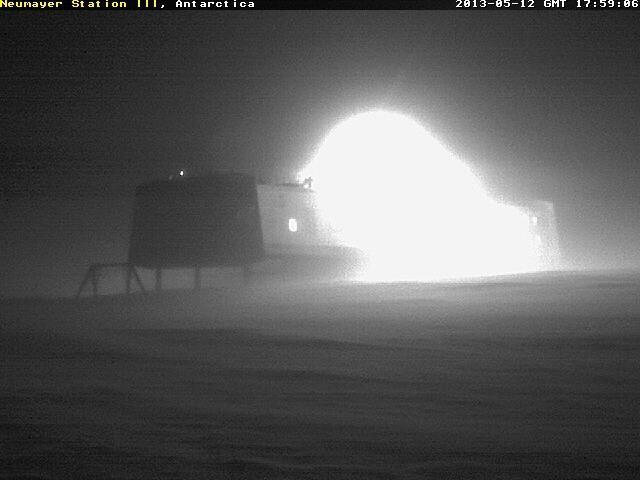 Rejtélyes fények az Antarktiszi állomáson (2013.máj.12.)