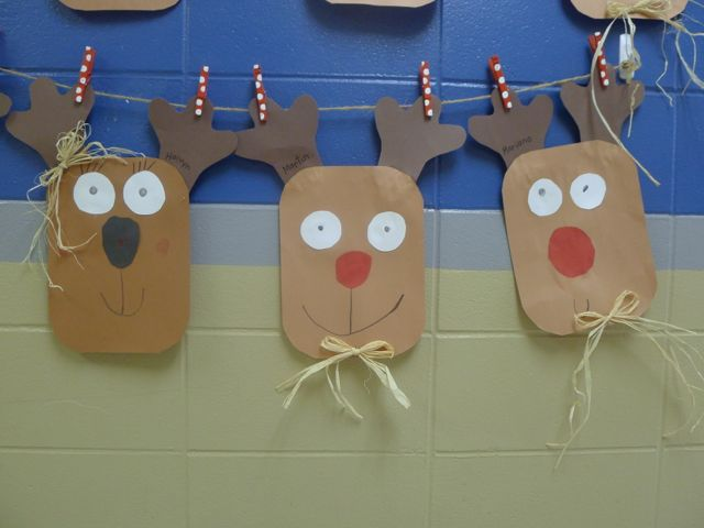 Easy Holiday Craft Pack Giveaway Simple Reindeer Glyph First