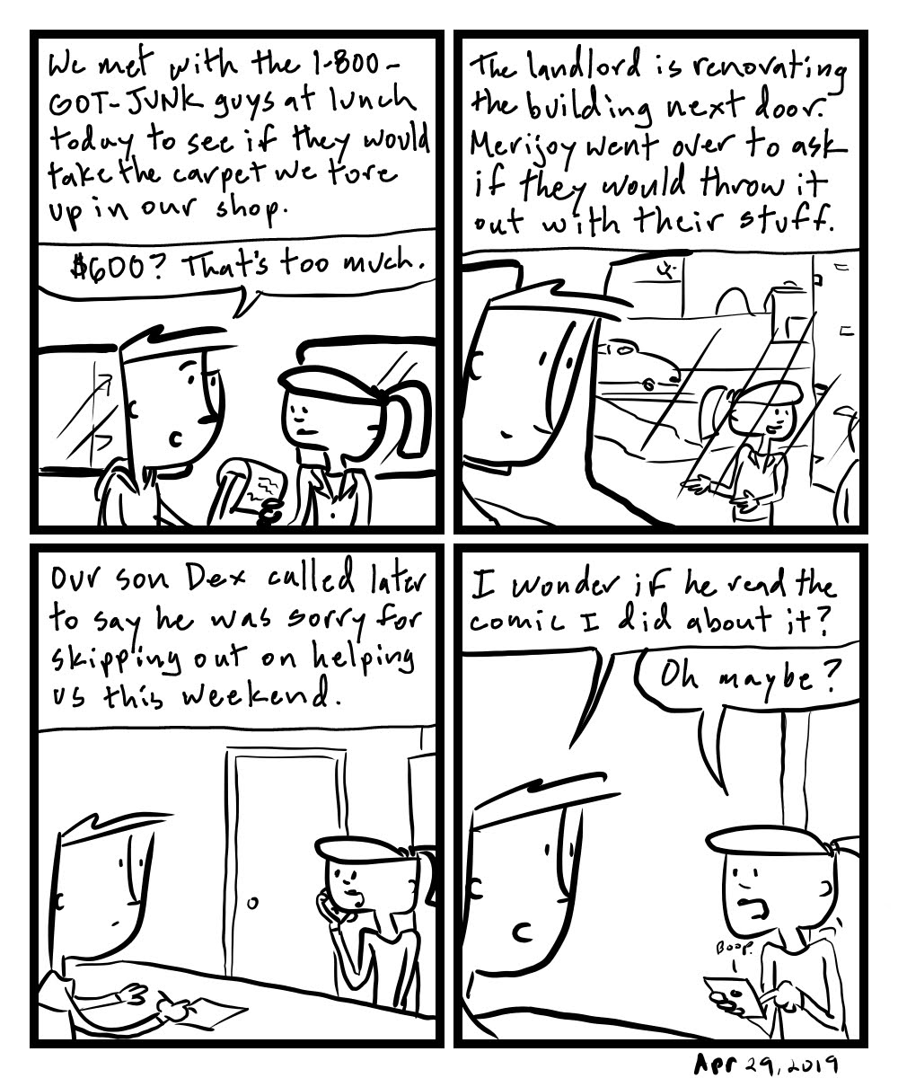 Then This Happened Comic