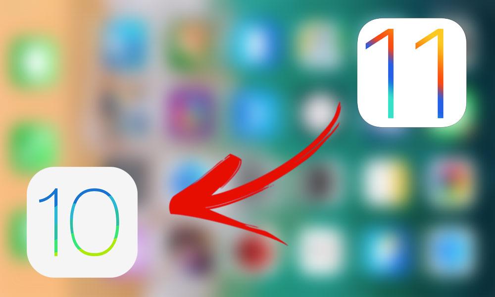 فێركاری چۆنیهتی گهرانهوهی وهشانی  iOS 11 بۆ 10.3.1