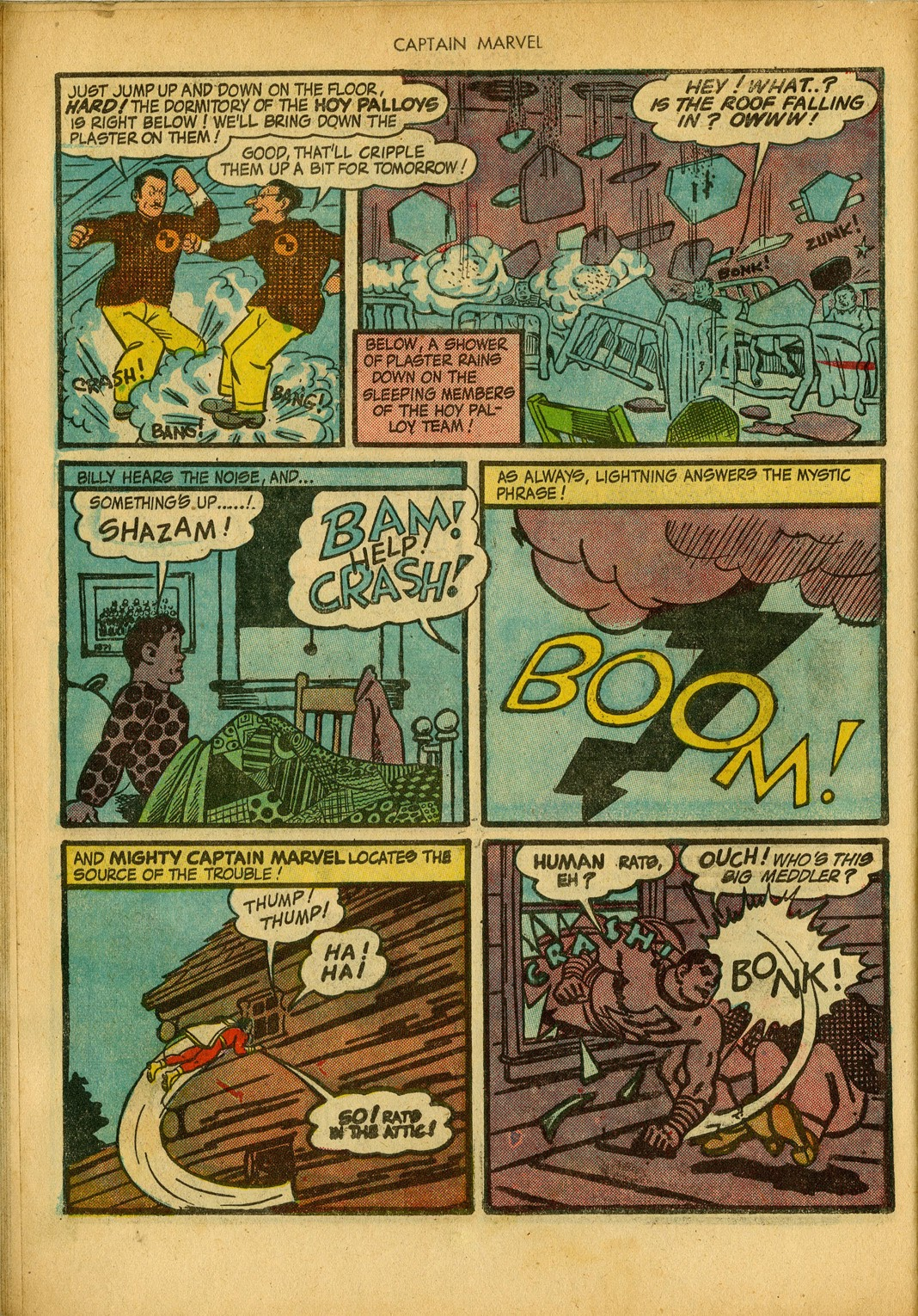 Captain Marvel Adventures issue 34 - Page 22