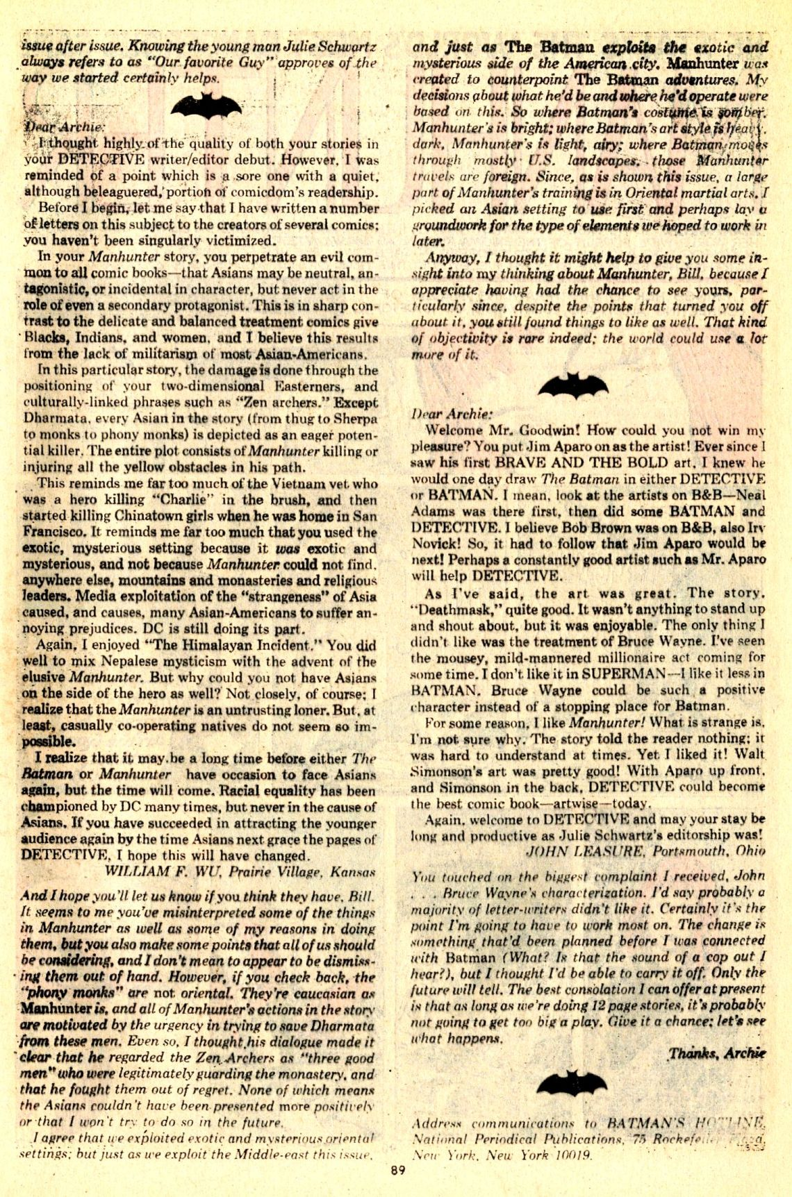 Detective Comics (1937) 439 Page 88