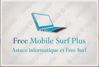logo gratuit Free Mobile Surf Plus