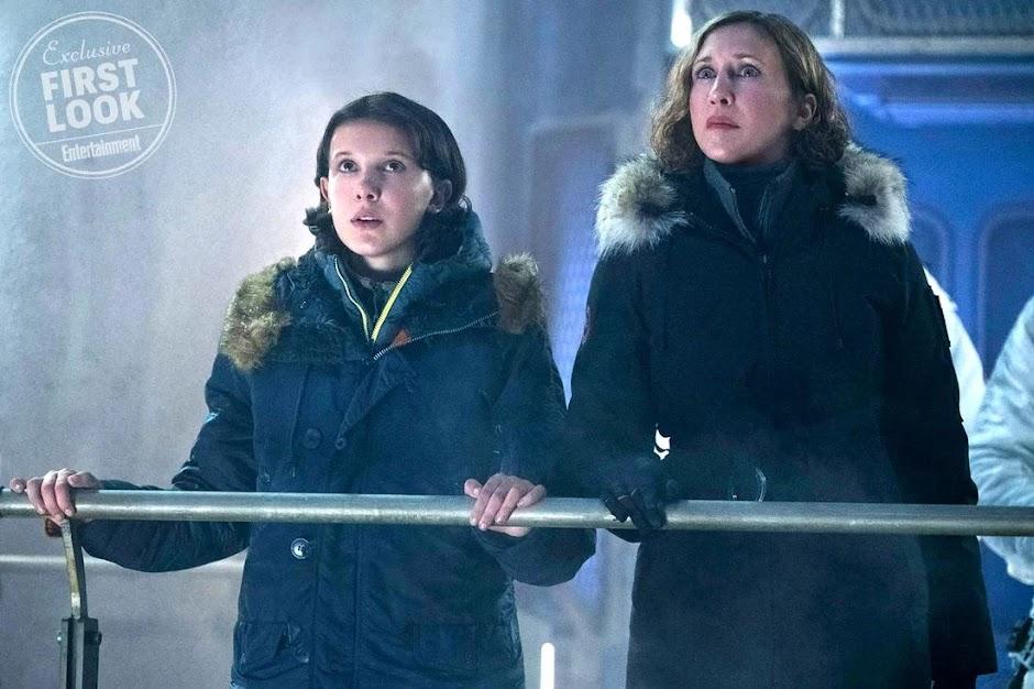 "Teaser de ""Godzilla: Rei dos Monstros"" apresenta as primeiras imagens de Millie Bobby Brown"