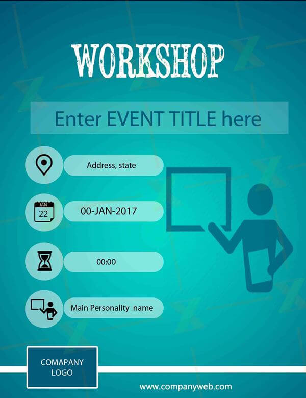 6 attractive formal creative posters for workshop xyzpedia