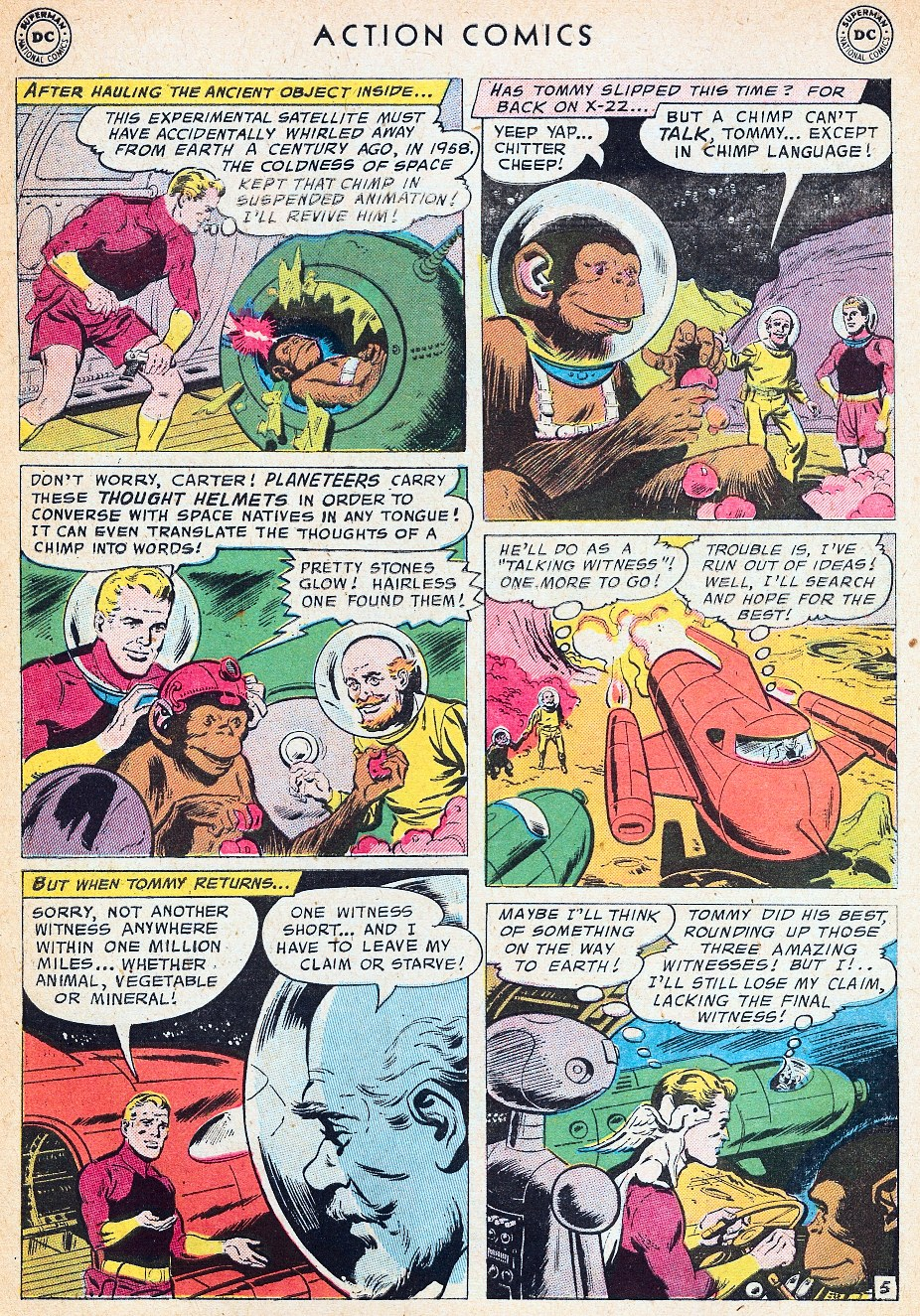 Read online Action Comics (1938) comic -  Issue #241 - 31