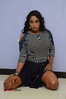 Telugu Actress Meghana Stills HBD (Hacked by Devil) Telugu Movie Audio Launch  0060.JPG