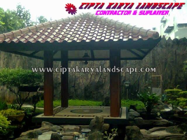gazebo taman | CIPTA KARYA LANDSCAPE : jasa tukang taman