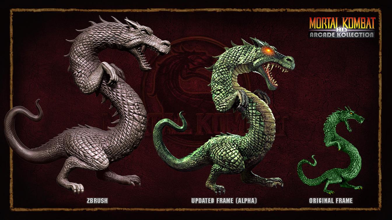 Mortal Kombat Dragon: Jeremy Kohar Portfolio: Cancelled Mortal Kombat HD Arcade