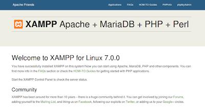 Instalasi Xampp di Linux Ubuntu