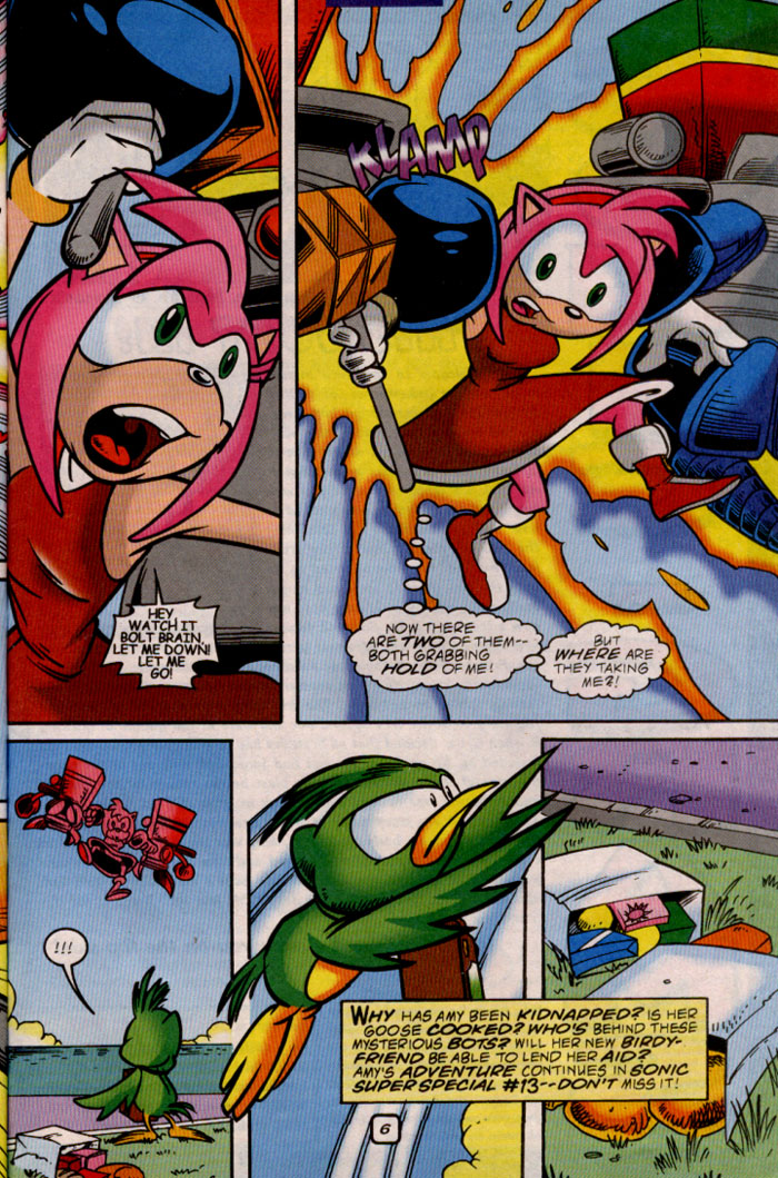 Read online Sonic The Hedgehog comic -  Issue #81 - 21