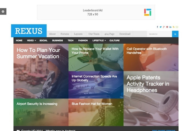 Rexus Premium WordPress Theme