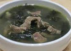 Resep praktis (mudah) sup rumput laut spesial (istimewa) yang enak, sedap, gurih, nikmat dan lezat