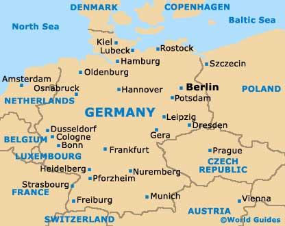 Deutschlandkarte Blog Hannover Karte Region Bild