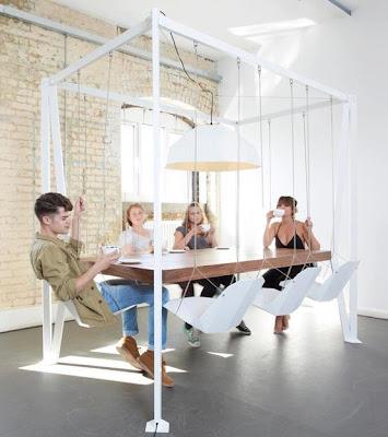 Creative Design - Kerusi Dan Meja Santai