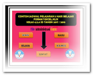 Contoh SK KBM + Aplikasi Jadwal Pelajaran Gratis